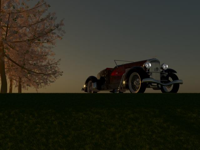 Duesenberg SJ Weymann Speedster