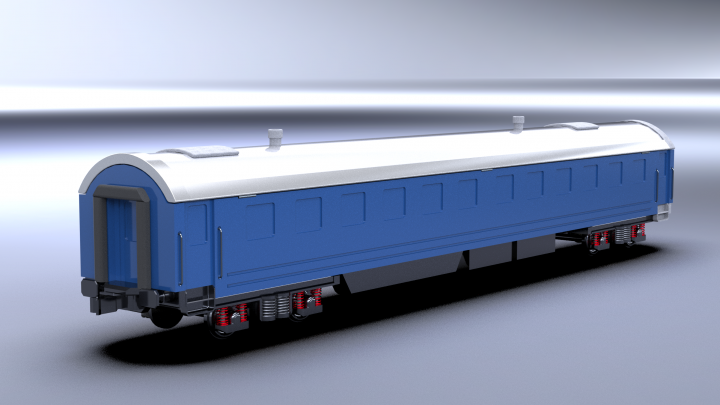 Вагон поезда с секретом