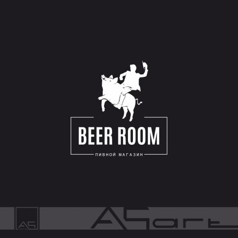 BEER ROOM, логотип пивного магазина