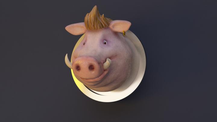 Голова персонажа