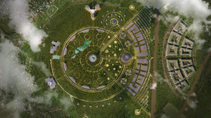 Концепт и визуализация для проекта Экополиc
