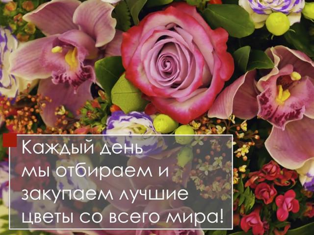Цветочный ряд