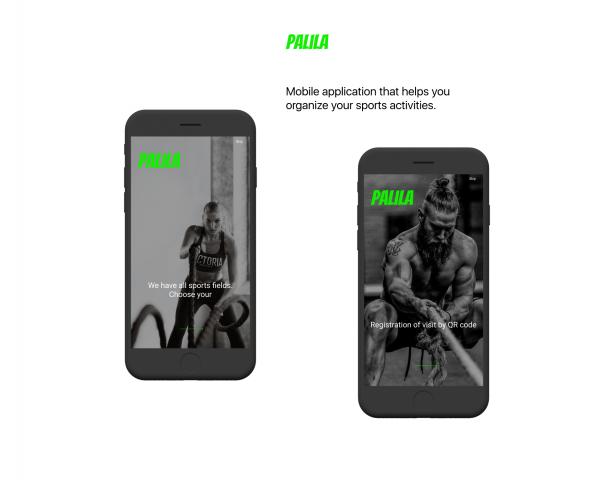 Ux Ui Design Mobile App for sport