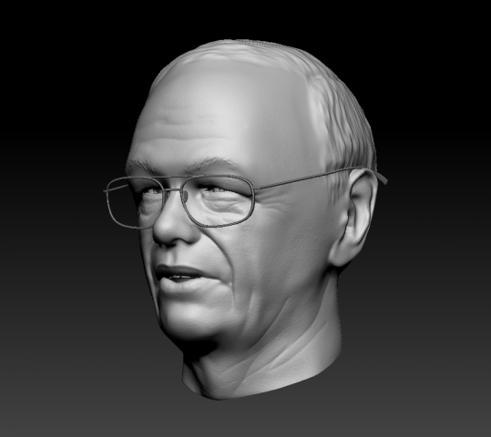 3D портрет по фото