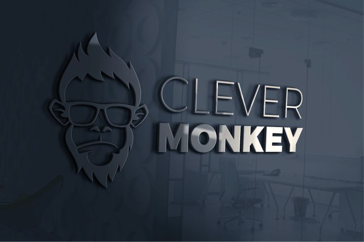 Clever Monkey Logo for Kindergarten