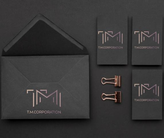 Логотип для патентного агентства T.M.Corporation
