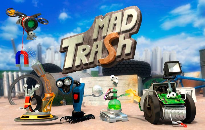 Анимация MadTrash