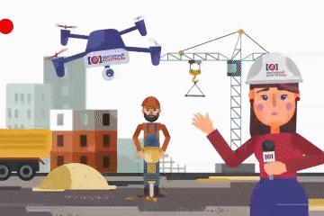 Персонажная анимация для компании «Квартирный контроль»