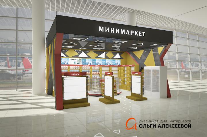 Магазин «BK market» Аэропорт Шереметьево Терминал D