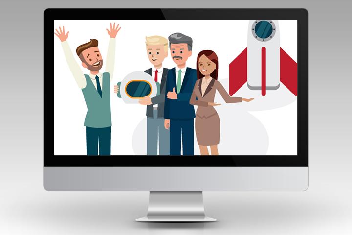 Иллюстрации для корпоративного HR-опроса