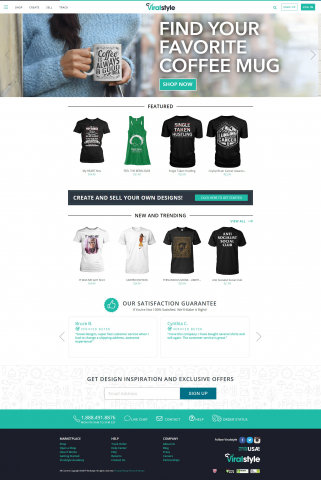 E-Commerce Site in Symfony and AngularJS