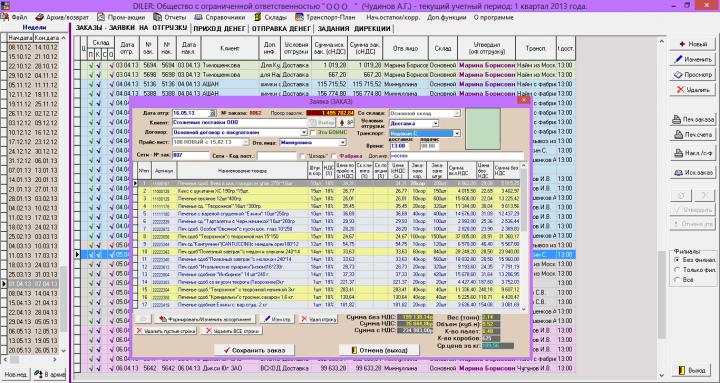 ERP-система Дилер-Торг