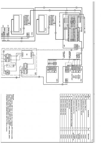 Схема электрическая подключения контроллера АРК