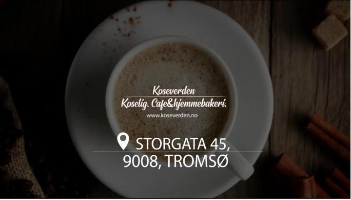 реклама Норвежского кафе-кондитерской