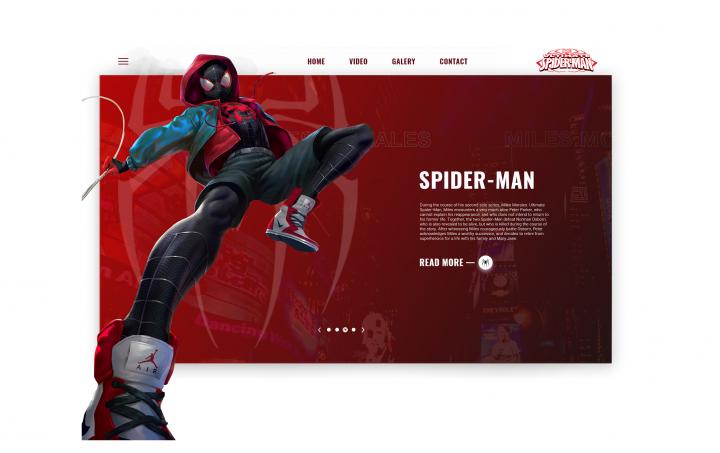 Spider-man concept