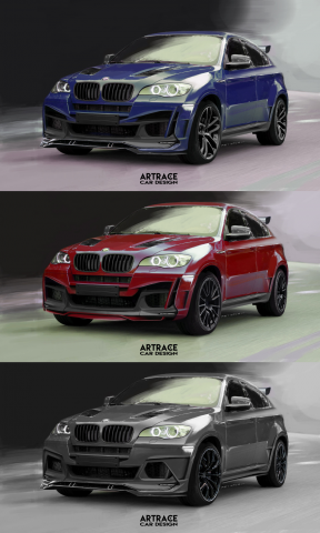 BMW X6 Artrace body-kit