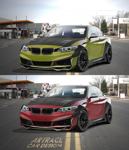 BMW M2 Artrace Body-kit