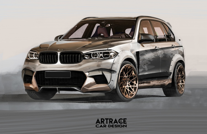 BMW X5 Artrace Body-kit