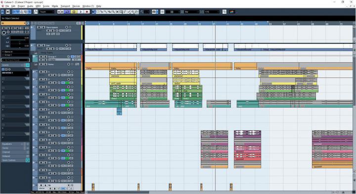 Сведение и обработка  муз.трека для рэп исполнителя.