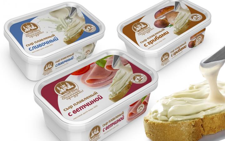 Дизайн упаковки для сливочного сыра