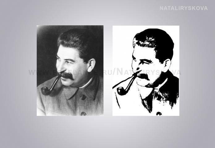 Векторный Сталин