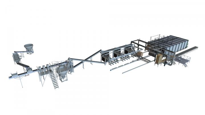 Автоматизированный кирпичный завод