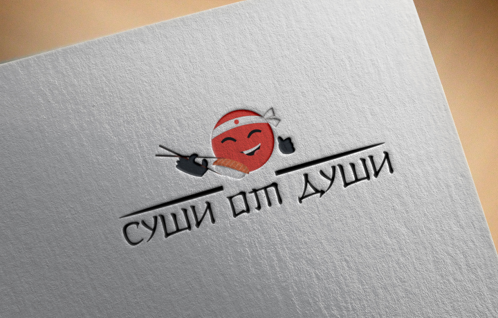 Логотип магазина суши