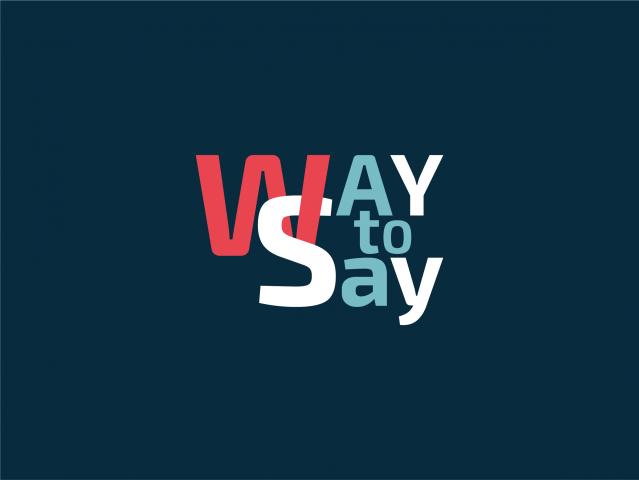 Логотип для on-line школы по обучению иностранным языкам