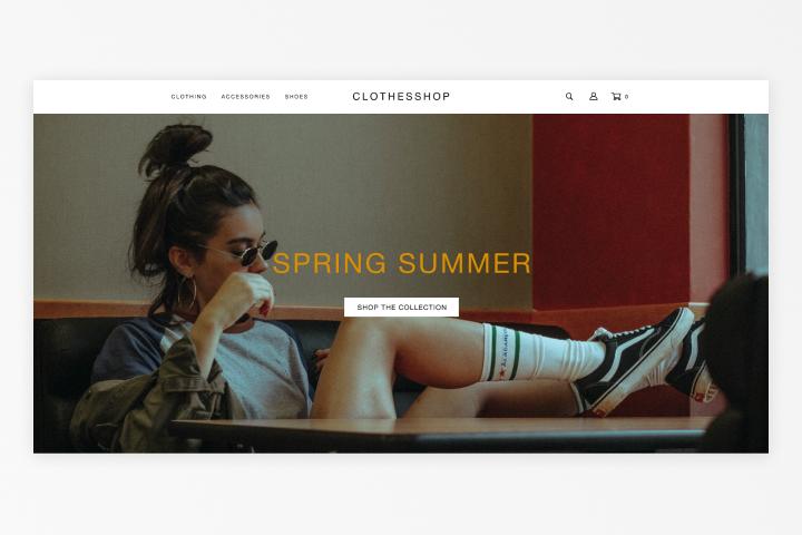 Интернет-магазин Clothesshop2.0