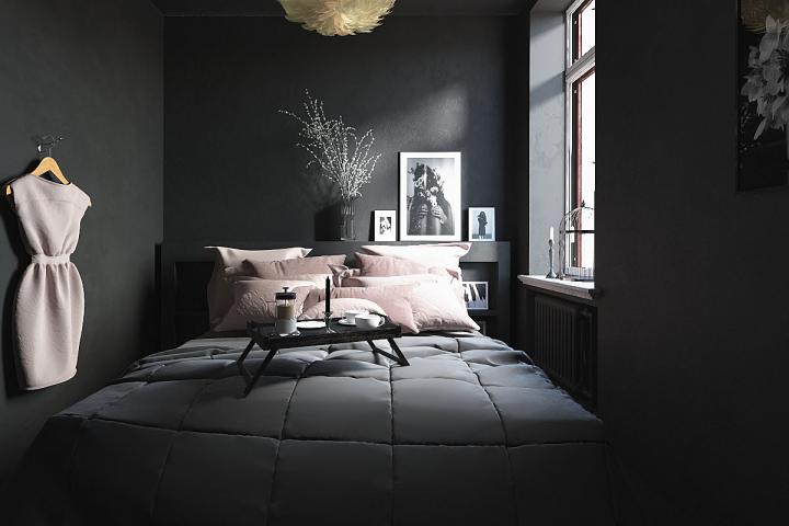 Визуализация спальни.Дизайн с просторов интернета