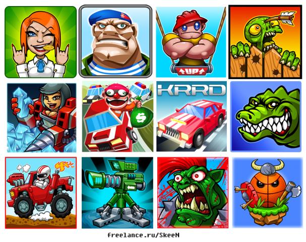 иконки для игр в стор