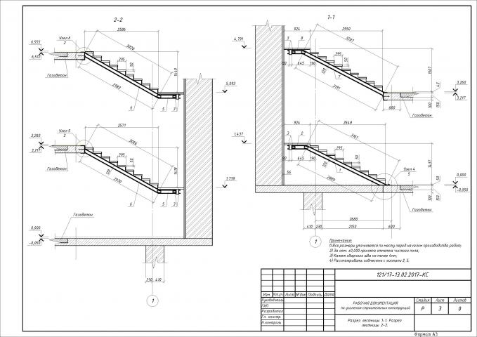 Проект усиления лестницы в частном доме (3)