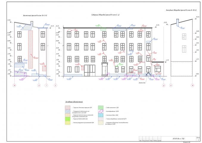 Карта дефектов исторического здания