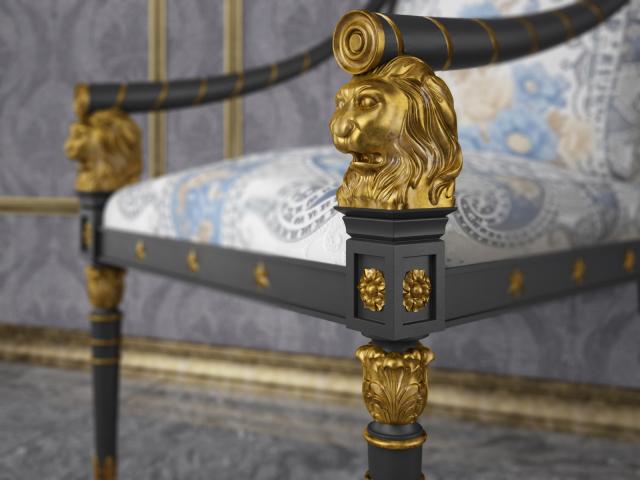 Кресло со львами_close_up