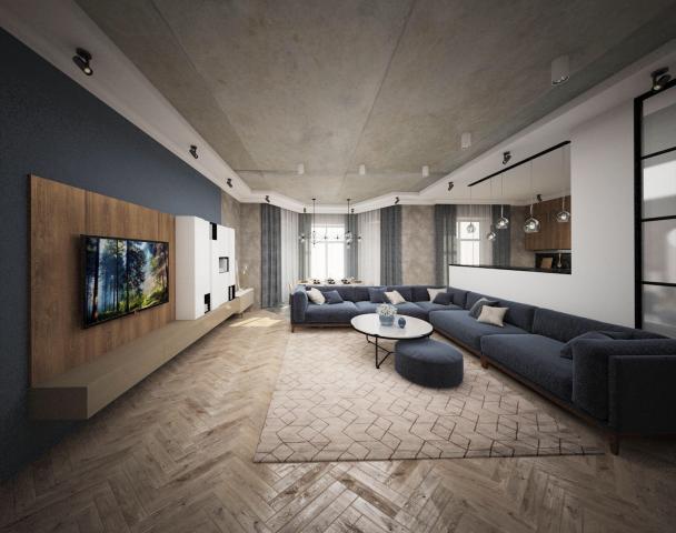Дизайн-проект интерьера в современном стиле