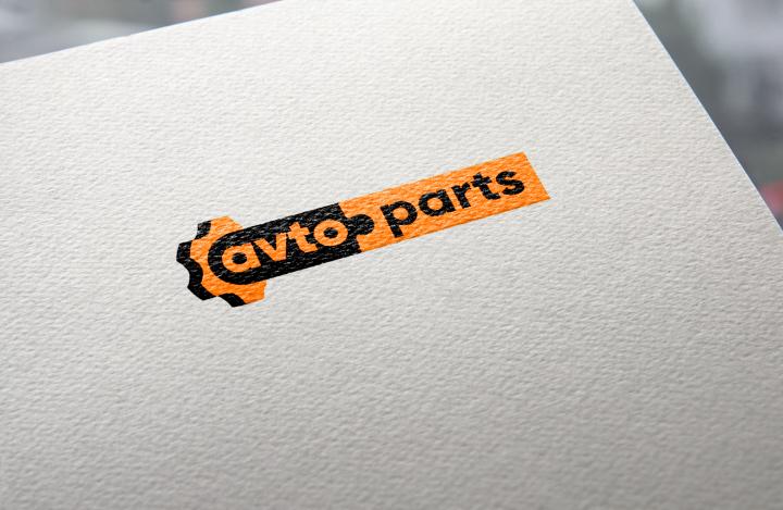 Логотип магазина автозапчастей
