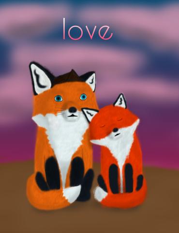 Лисья любовь