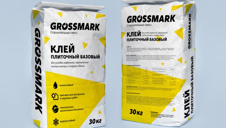 Разработка упаковки для бренда строительных смесей