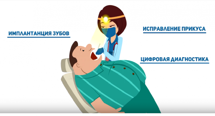 Анимационный ролик для стоматологии