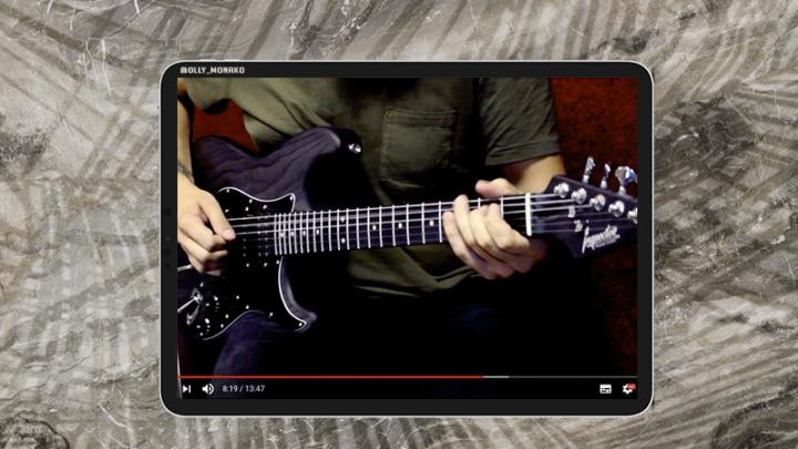Обзор на гитару