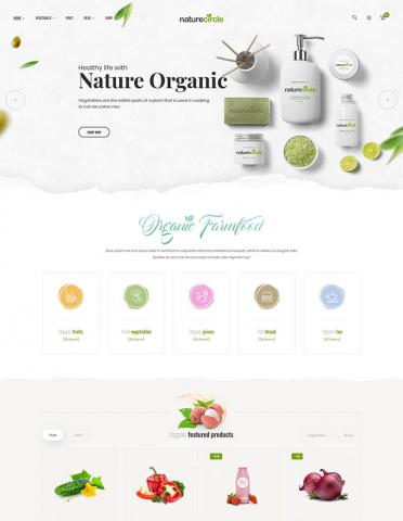 ThemeForest NatureCircle