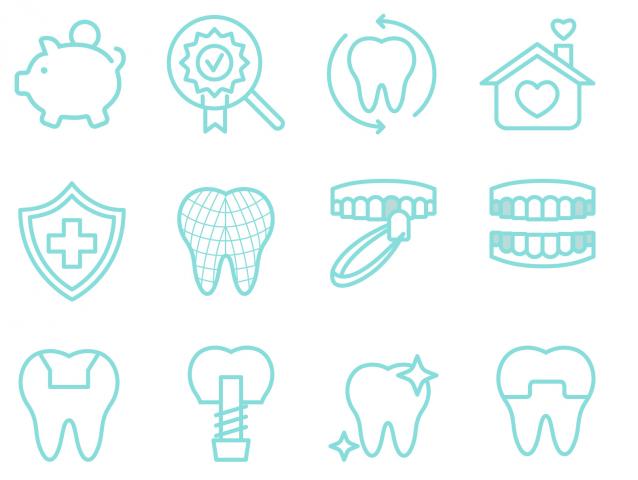 Иконки для стоматолога