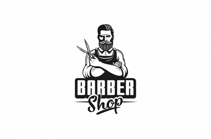 логотип для Barber Shop
