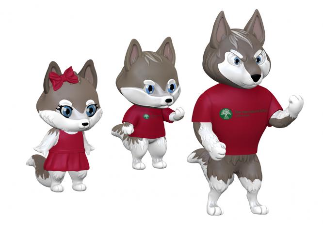 3D модели персонажей волчат