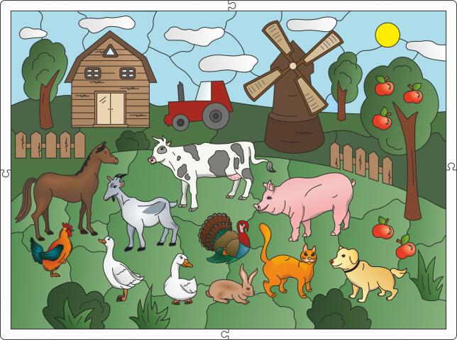 Иллюстрация для развивающей детской игры