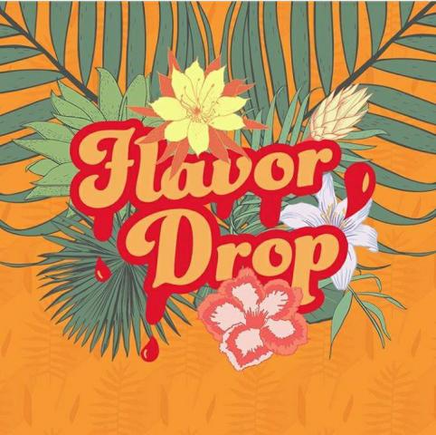 Оформление профилей в соцсетях для Flavor Drop