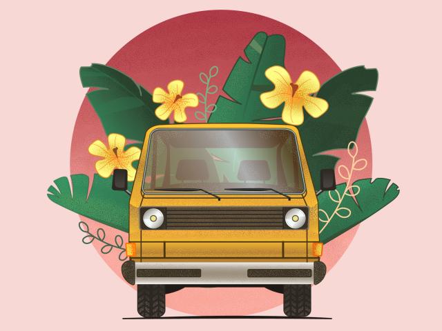 Тропический автобус