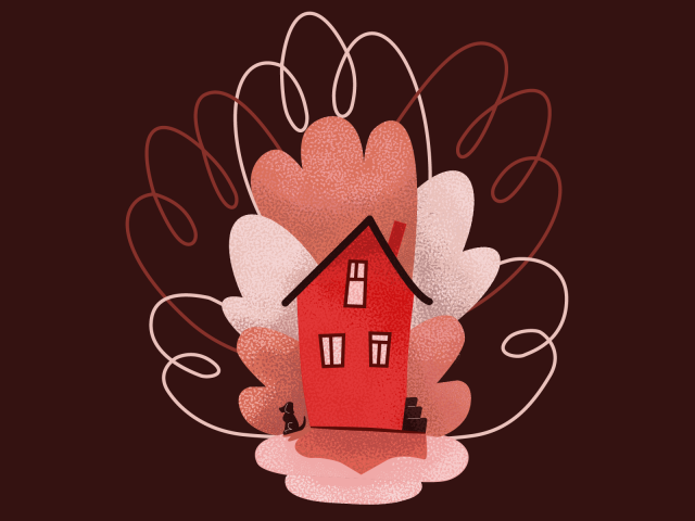 Дом, где живёт пёс