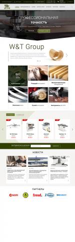 WT сайт деревообрабатывающего оборудования