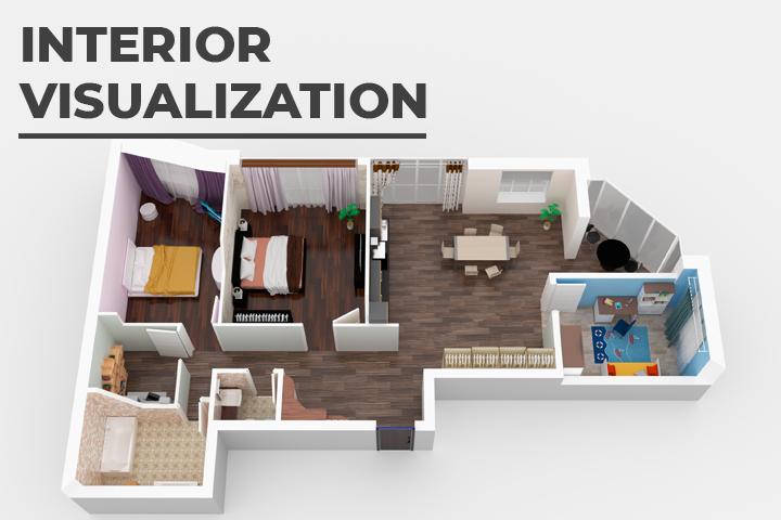 Визуализация квартирной планировки